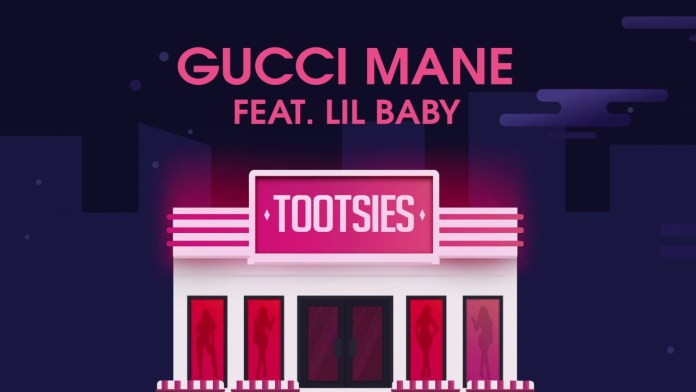 """Gucci Mane Release New """"Tootsies"""" Single With Lil Baby single cover image"""