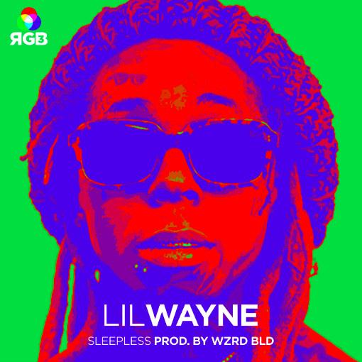Lil Wayne Sleepless single cover image