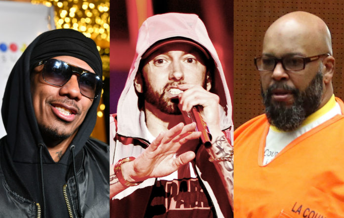 "Nick Cannon Drops New Eminem Diss ""The Invitation"" Feat. Suge Knight image"