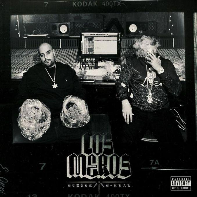 B-Real Berner Los Meros album cover image
