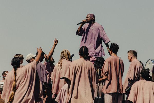 Kanye West Sunday Service image