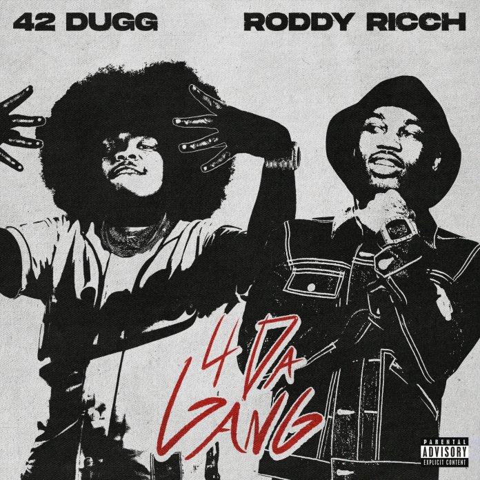 Roddy Ricch 42 Dugg 4 Da Gang single cover image