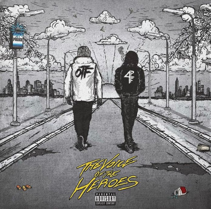 """Lil Baby & Lil Durk Release Collaborative Album """"The Voice Of The Heroes"""" album cover"""