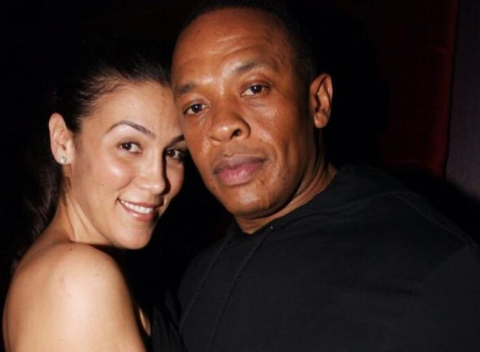 Dr. Dre and his ex wife Nicole Young