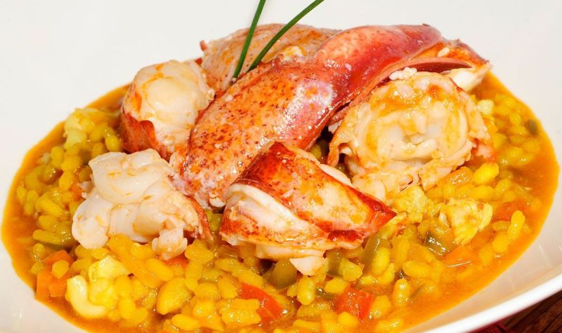 Sticky Rice with Lobster