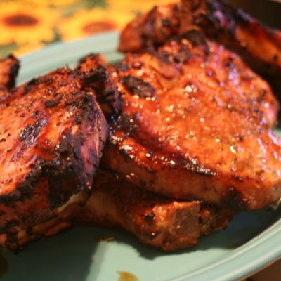 Grilled Pork Chops Marinade