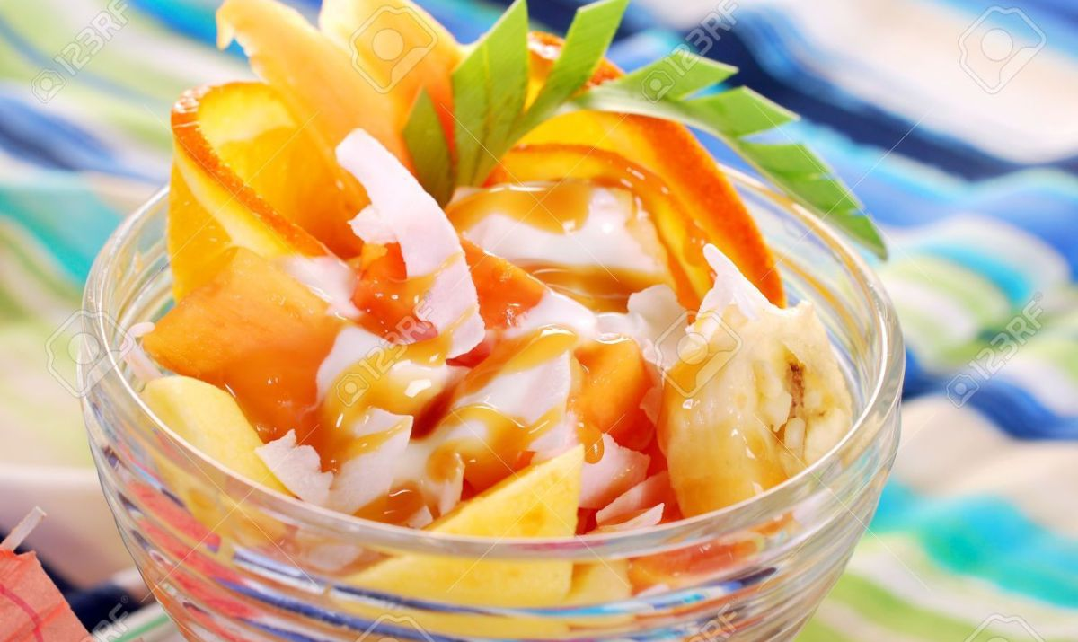 Papaya and Banana Salad