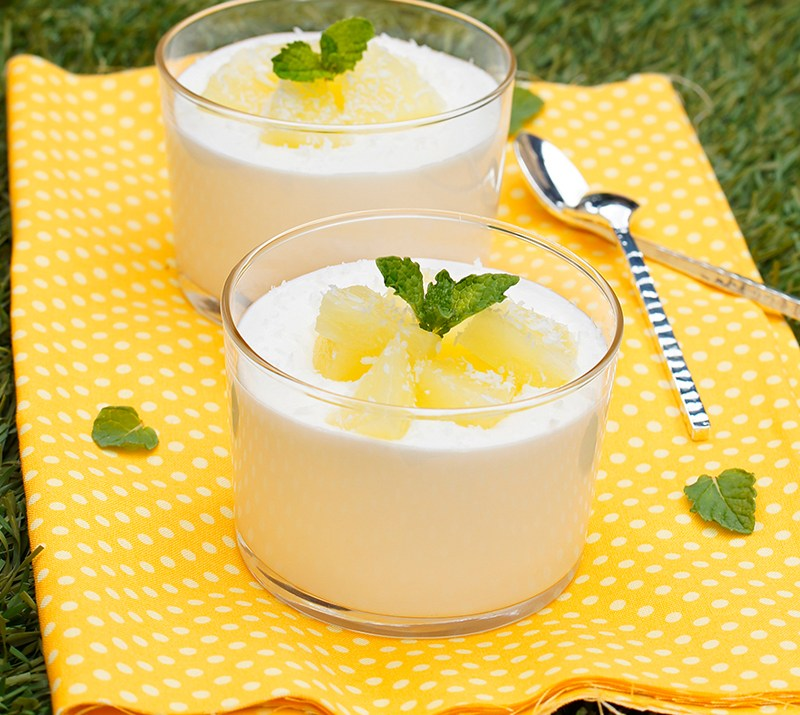 Coconut Pineapple Cream