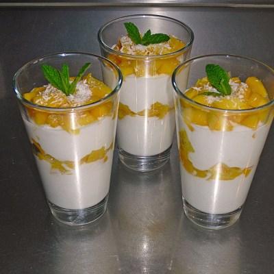 Coconut Mango Cream
