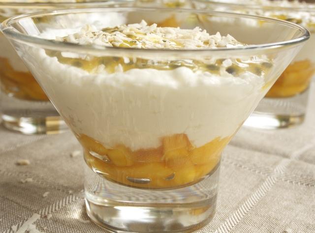 Passion Fruit Mango Cream