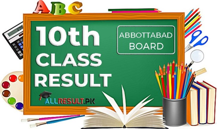 Check BISE Abbottabad Board 10th Class Exams Result 2020
