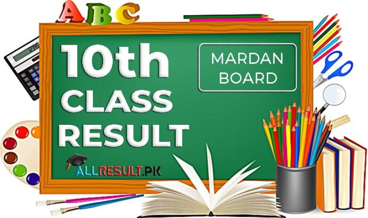 Check online BISE Mardan Board 10th Class Result 2020