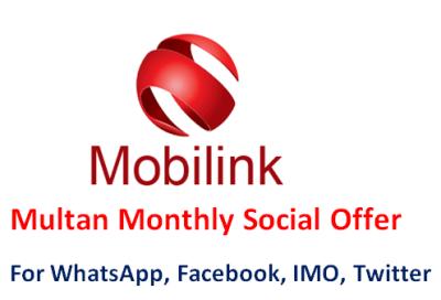 Jazz Multan Social Package