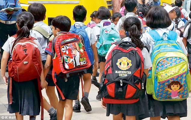 Schoolbag Weight Limits Fixed By Indian State