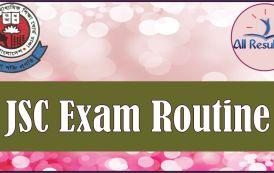 JSC Routine 2017 Bangladesh All Education Board