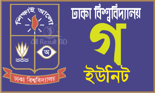 Dhaka University GA Unit Admission Result 2016-17