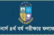 National University Honours 4th Year Result 2017 Nu.edu.bd