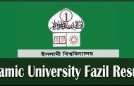 Islamic University Kushtia Fazil Result 2017 www.iu.ac.bd