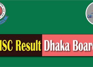 HSC Result 2017 Dhaka