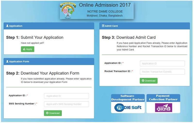 NDC apply online