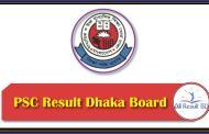 PSC Result 2017 Dhaka Board www.dpe.gov.bd