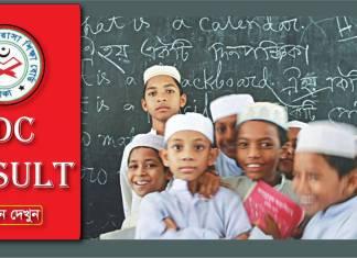 JDC Result 2017 Madrasah