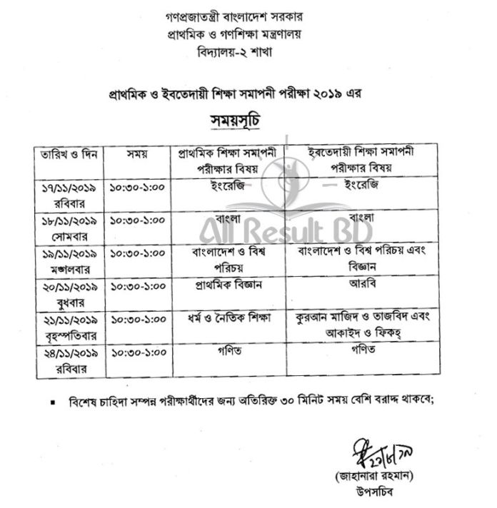PSC Routine 2019