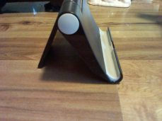 Phone stand-side view (you can adjust the angle too!)