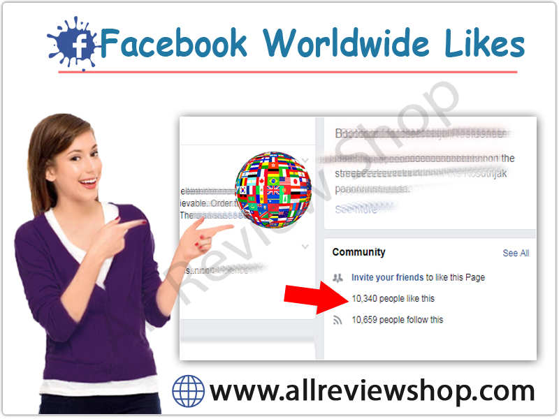 Buy Facebook worldwide Page Likes
