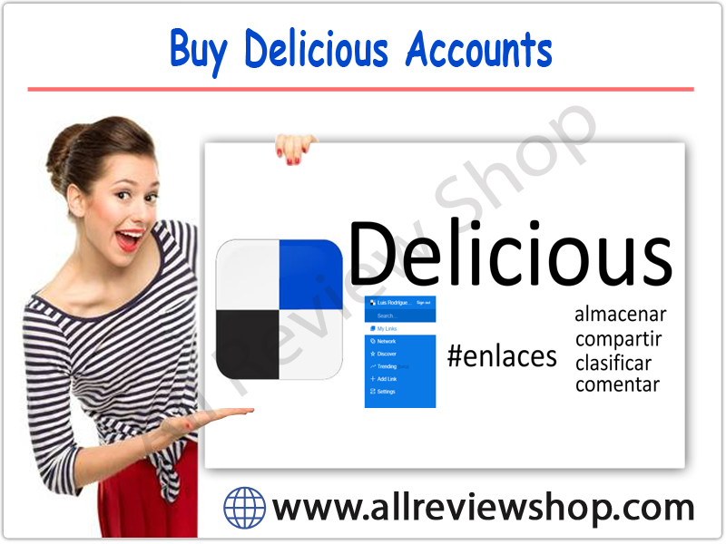Buy Delicious Accounts