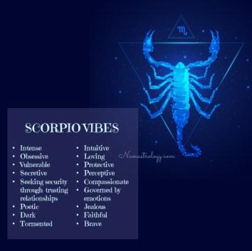 8) Scorpio Vibes