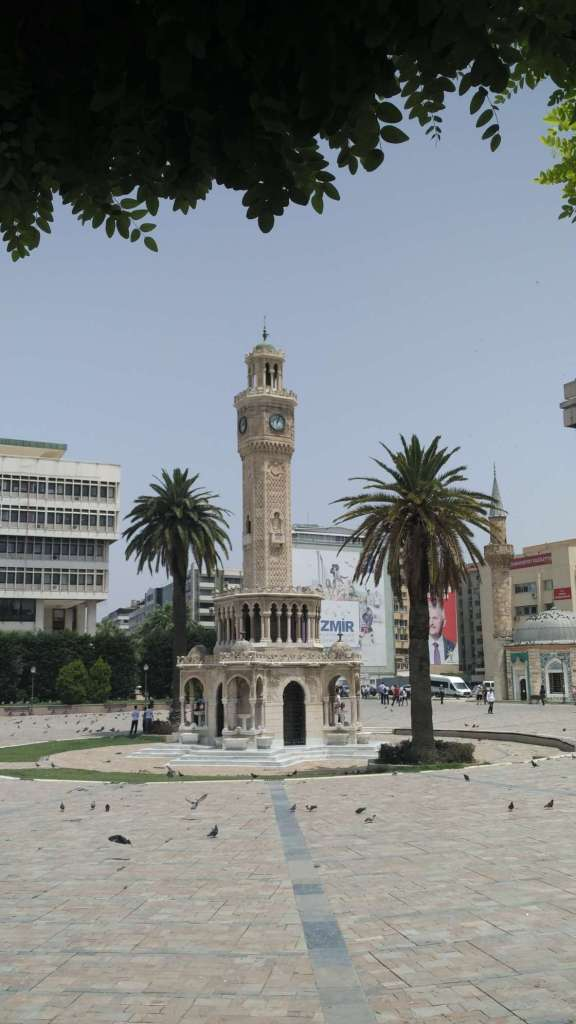 The pride and joy of Izmir's tourism board, the clock tower