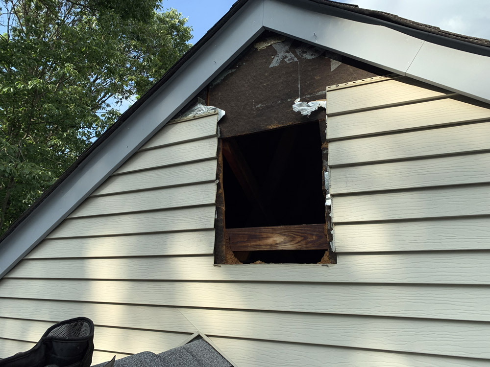 Roofing Repair Siding Amp Gable Vent Replacement Media Pa