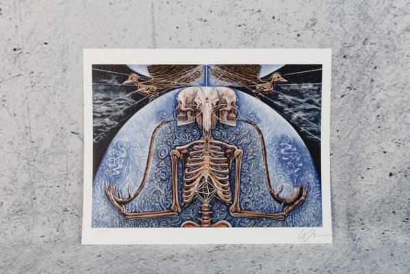 All Sacred | Aries Rhysing Print 3
