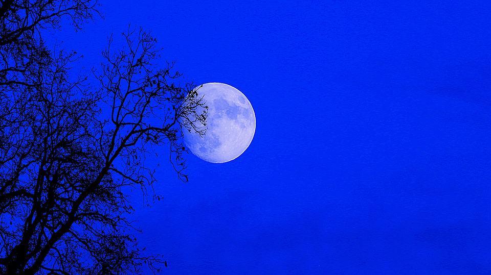 Night Moon Supermoon Full Sky Nature Full Moon All Saints