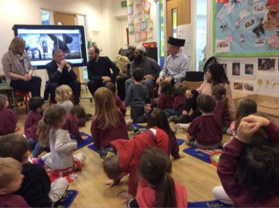 Interfaith Circle Time at Alyth Kindergarten