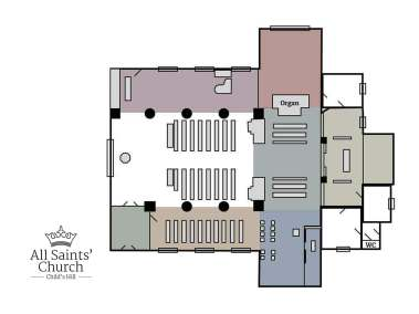 All Saints Floor Plan