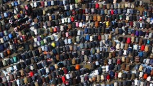 muslims at prayer