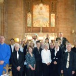 West End Festival evensong with the Jordanhill Liturgical Choir