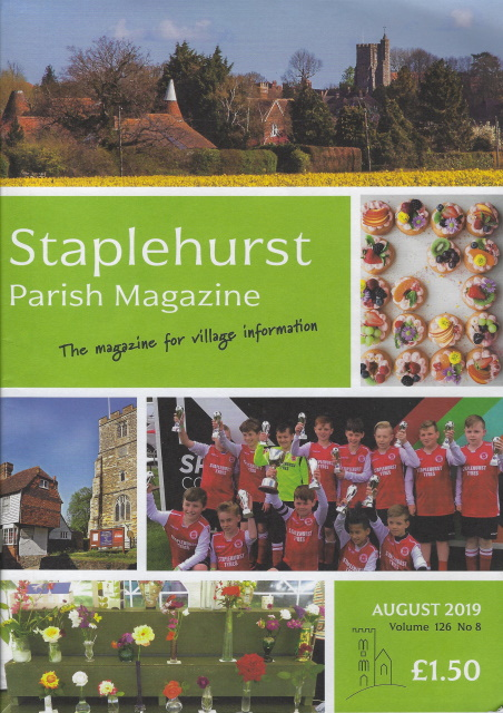 August Parish Magazine Cover