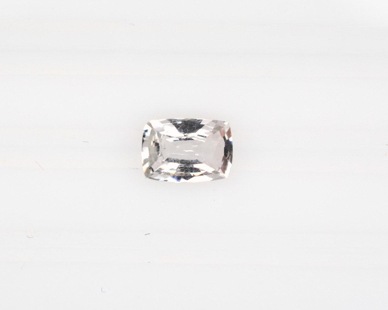 octagon white sapphire