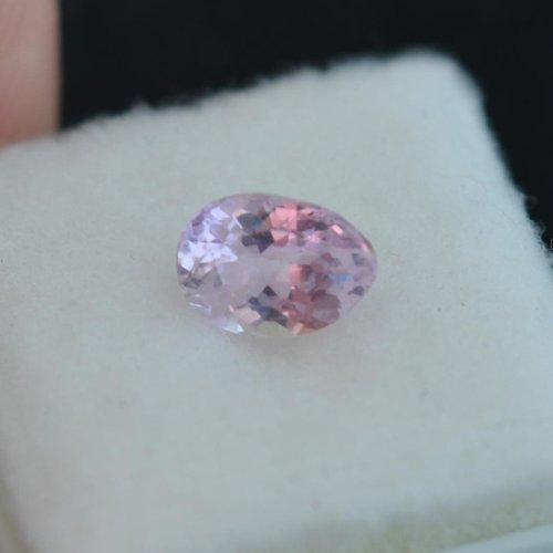 unheated peach Sapphire