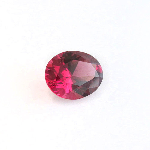 Garnet Red with flashes of pink