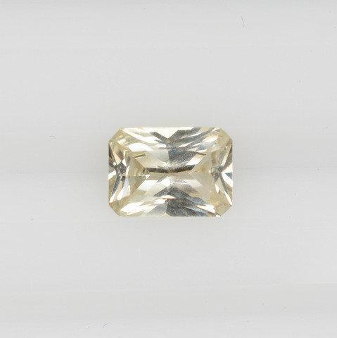 Radiant yellow sapphire