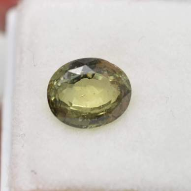loose green sapphire