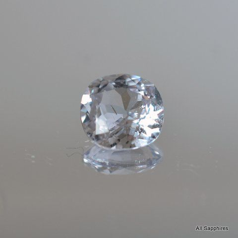 gray loose sapphire