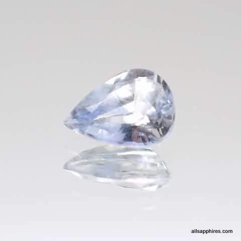 bluish white sapphire