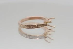 rose gold ring casting