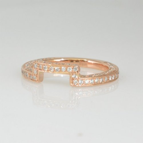 Unique handmade gold wedding band
