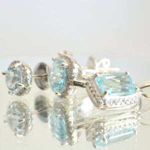 aquamarine 4 parts set